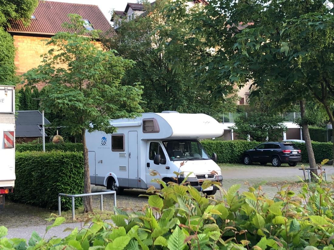 Parkplatz Kloster Maulbronn
